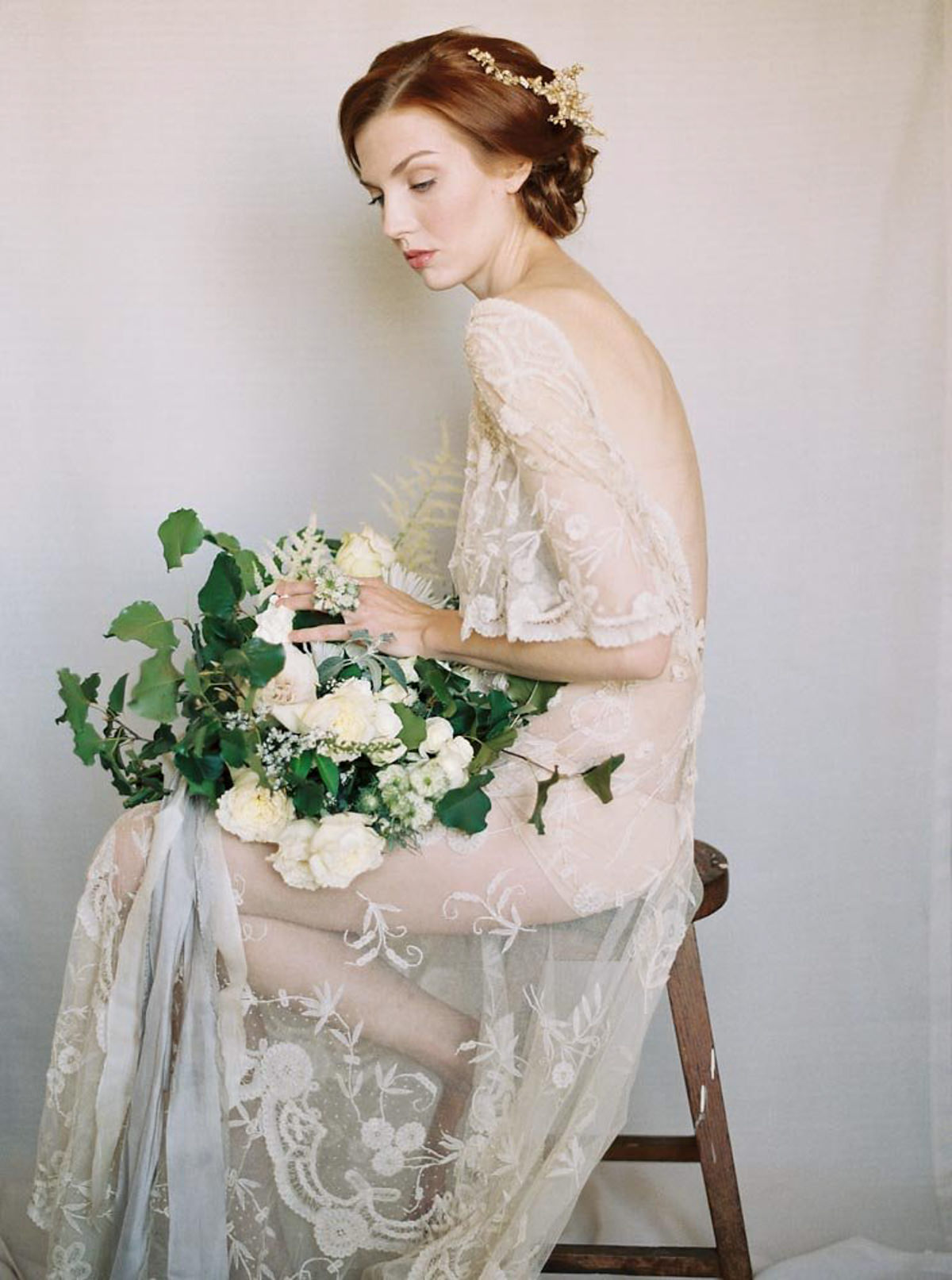 Fine Art Bridal Portrait Inspiration photo by Matoli Keely Photography