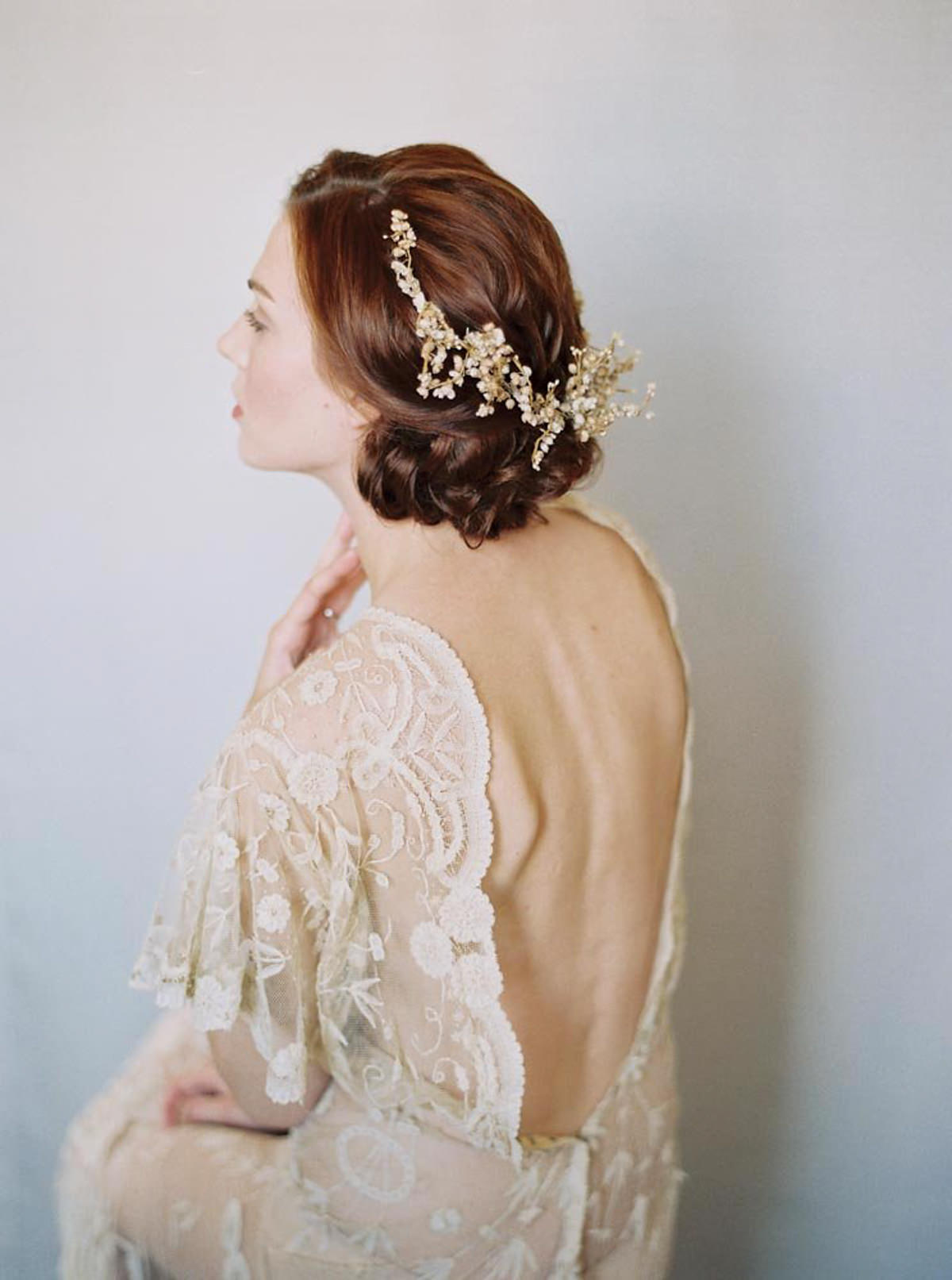Fine Art Bridal Portrait editorial photo by Matoli Keely Photography