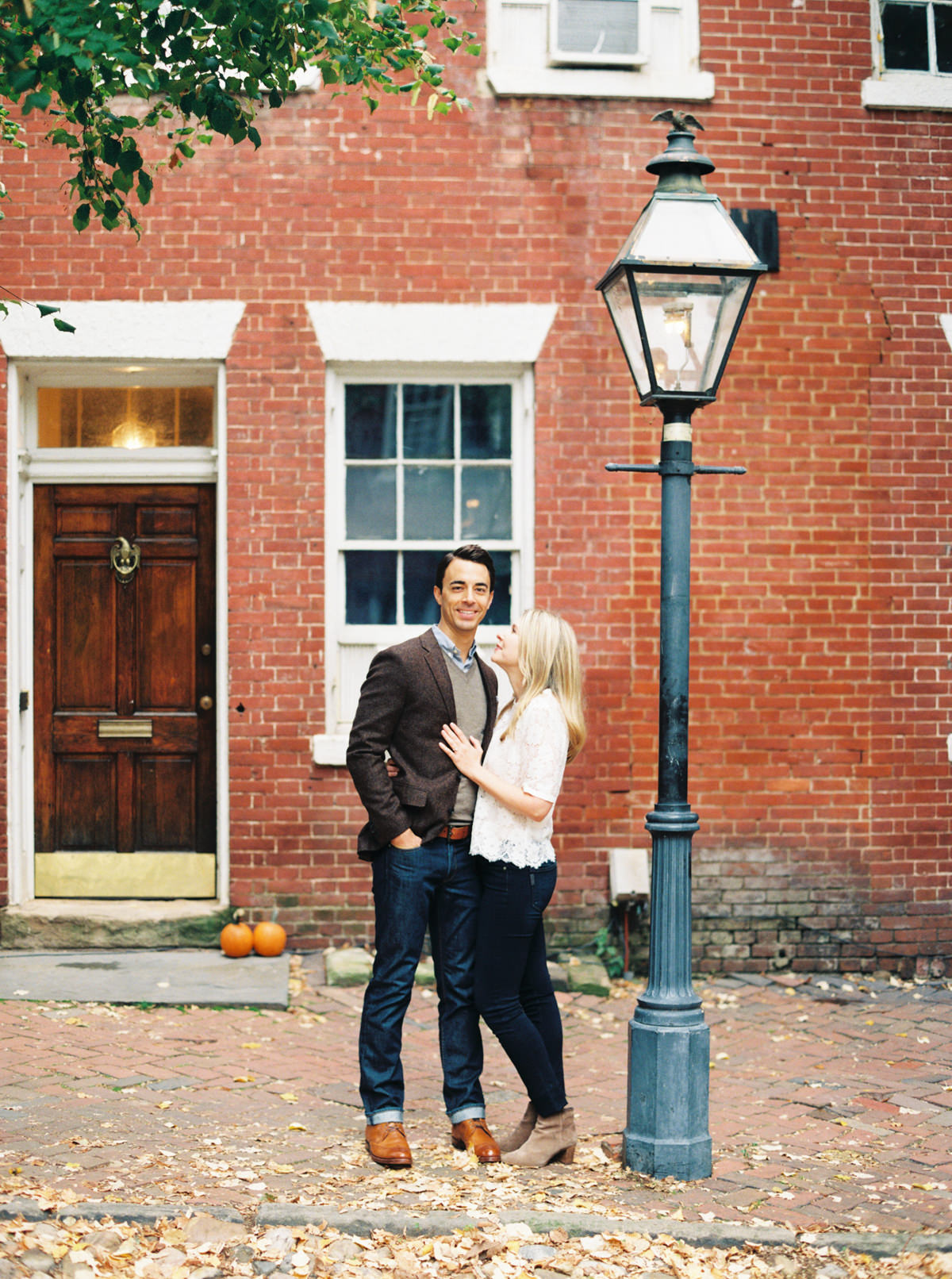 Old Town Alexandria Engagement photo by Matoli Keely Photography