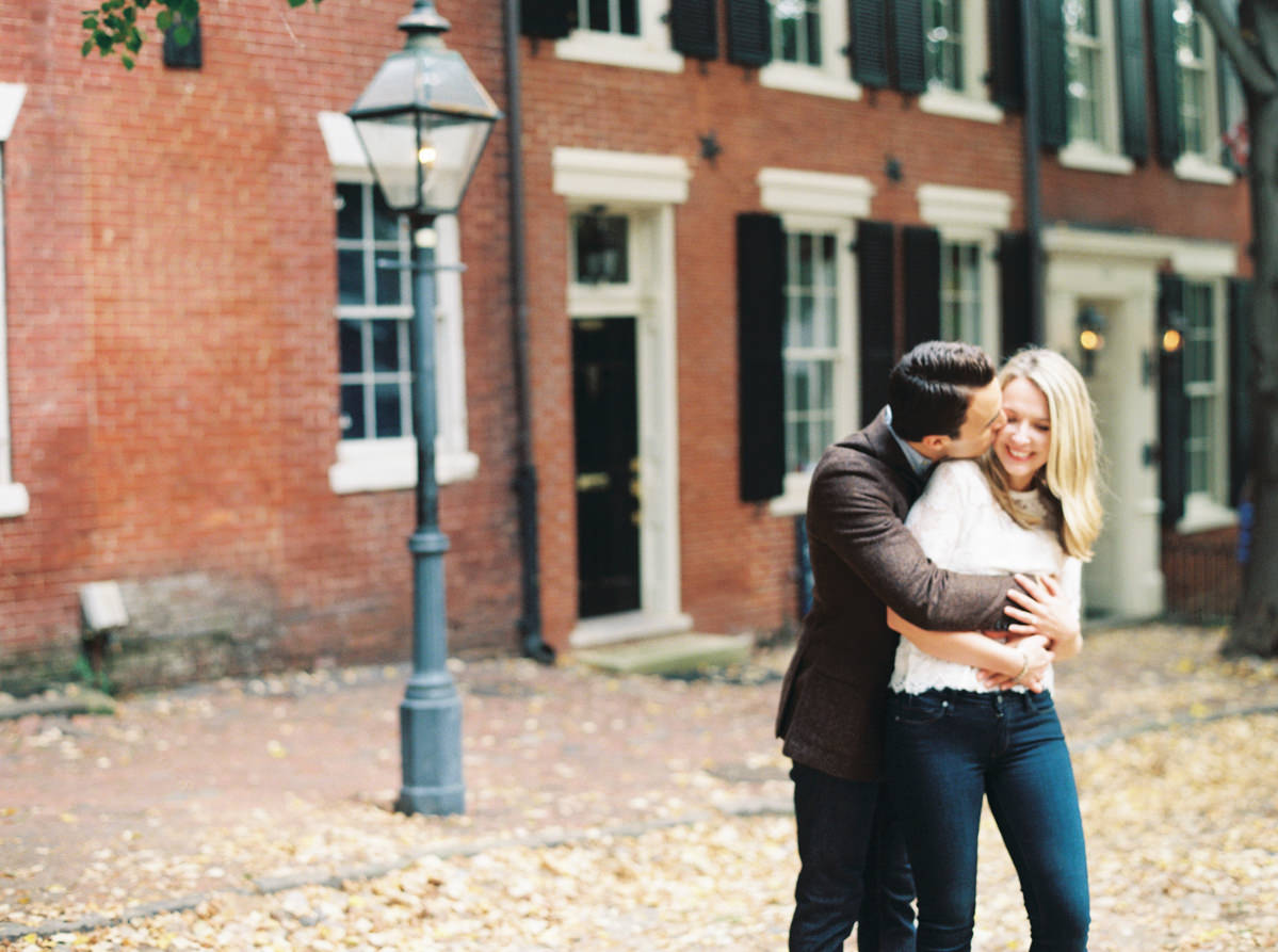fall engagement photo by Matoli Keely Photography