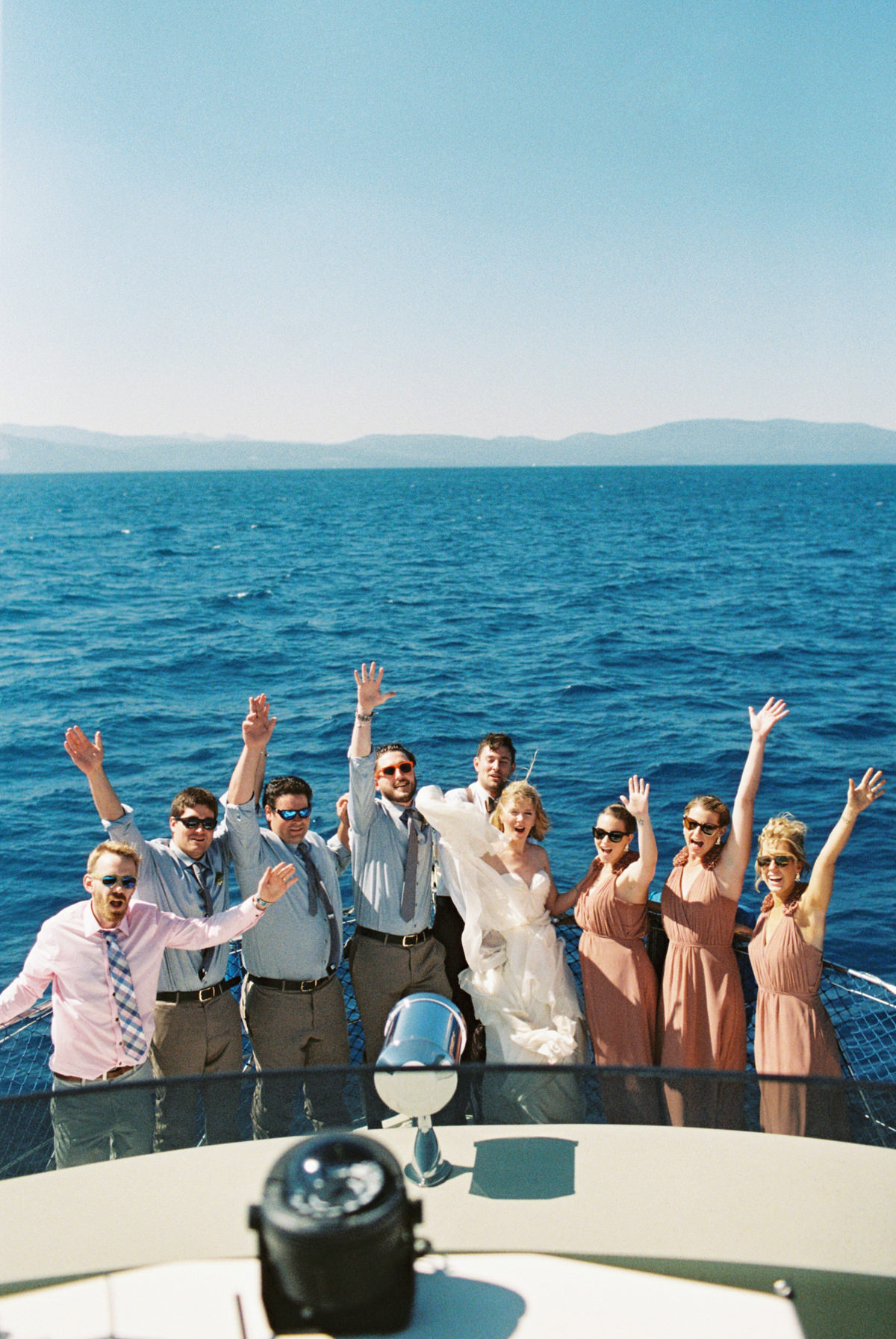 lake tahoe party boat photo by Matoli Keely Photography