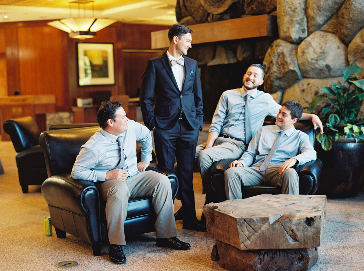 groomsmen portraits Heavenly Mountain Resort Wedding
