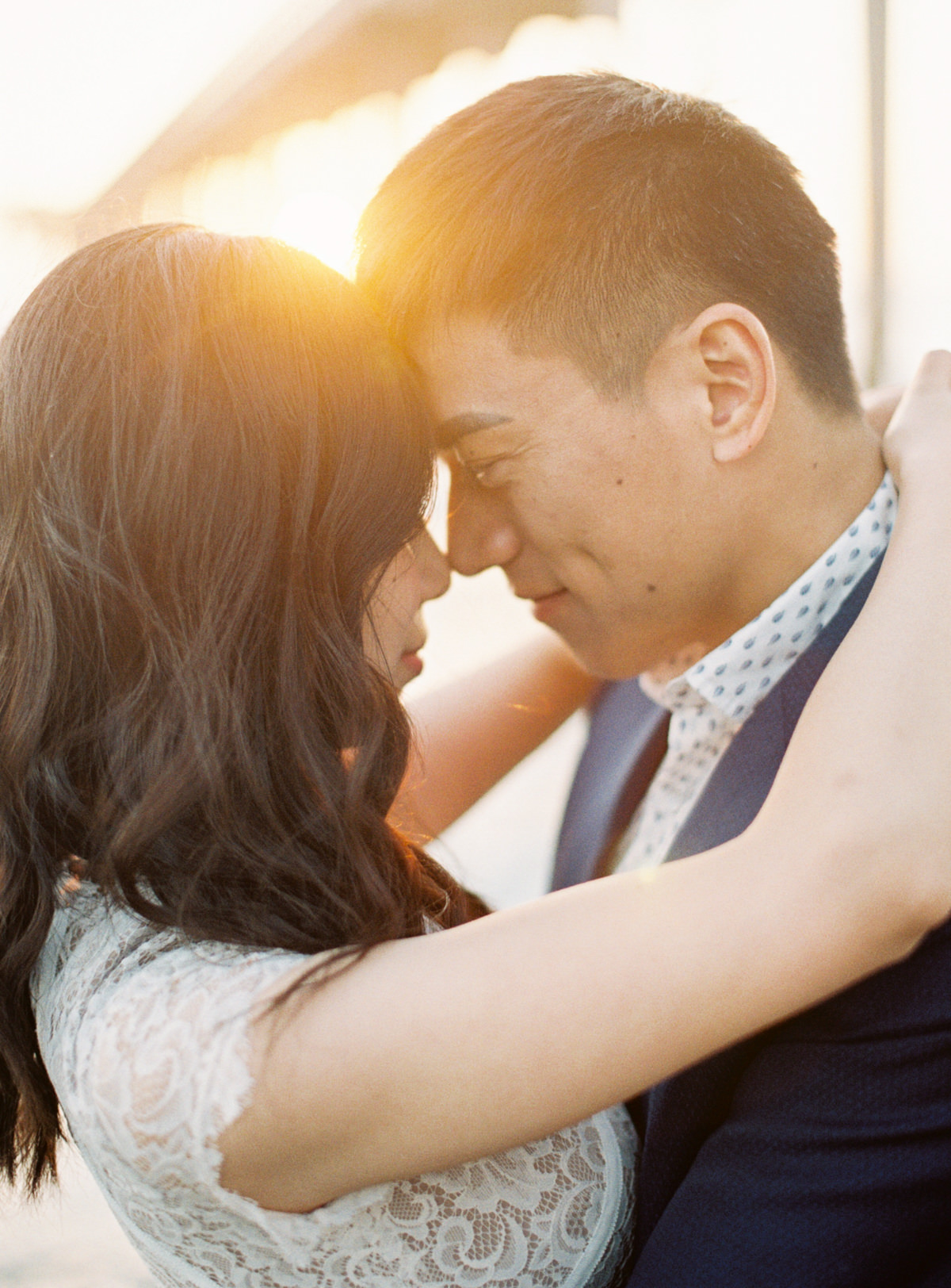 sunset bride and groom photos San Diego Engagement photo by Matoli Keely Photography