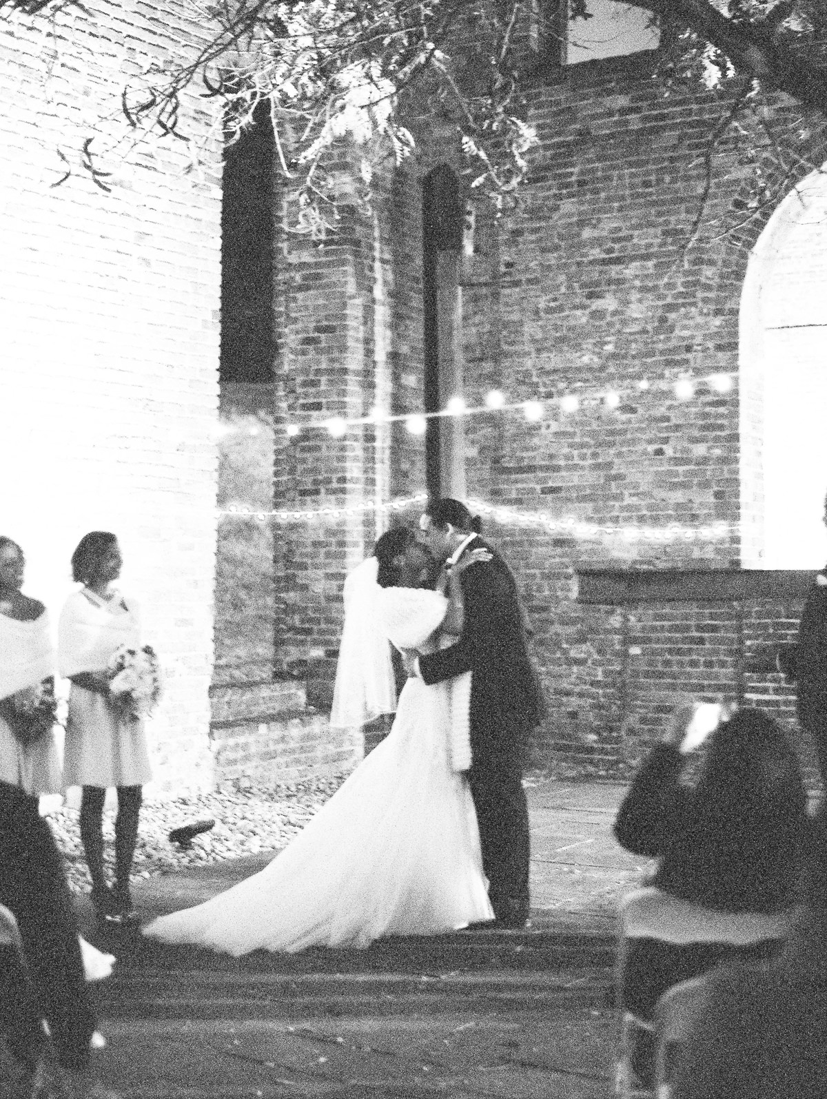 Tredegar Iron Works Fall Wedding on FIlm
