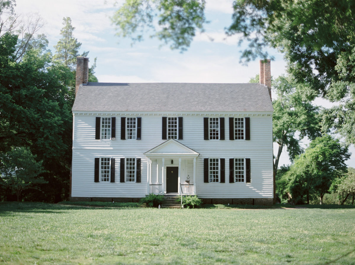 Thomas Jefferson childhood home photo by Matoli Keely Photography