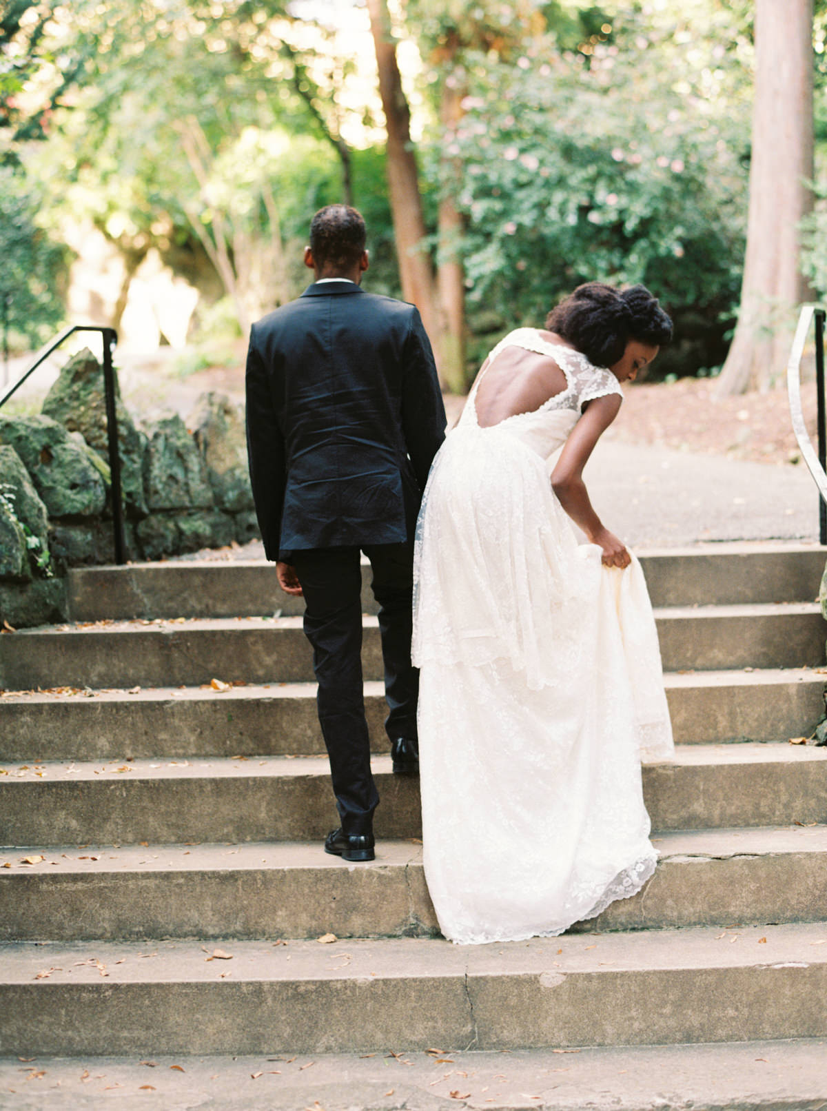 Franciscan Monastery Elopement photo by Matoli Keely Photography