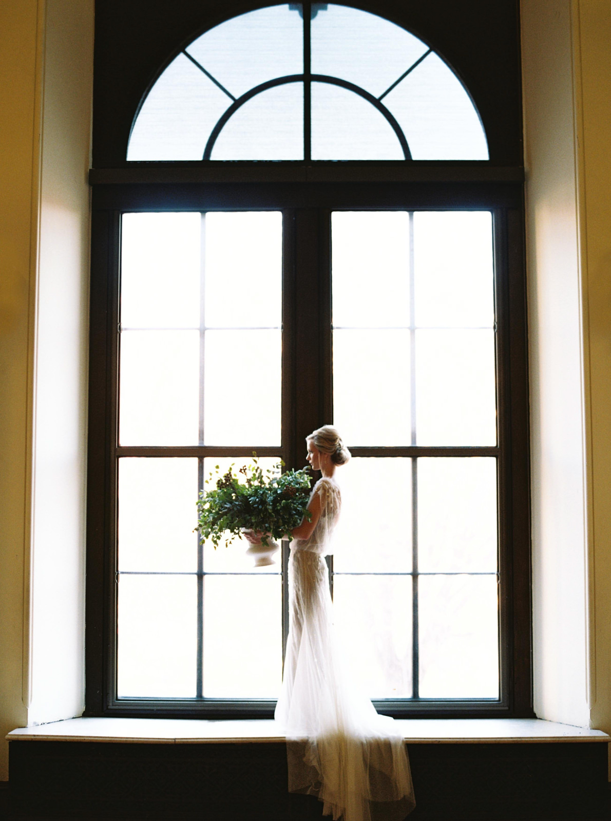George Peabody Library Bridal Wedding Editorial_ Matoli Keely Photography